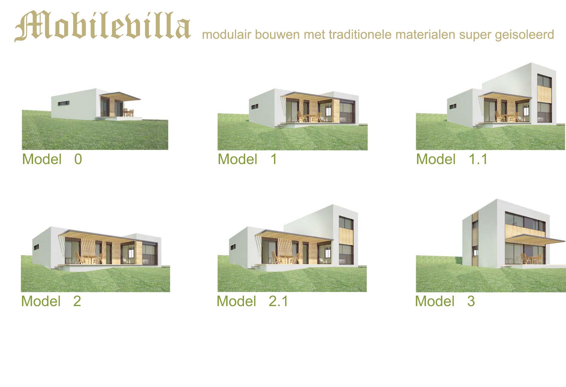 Modulair bouwen met traditionele materialen